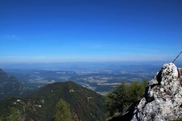4-Himmelsrichtungen-Ausblicksberg OISTRA 1 - 1 1/2 Std. ab der Hüttentür