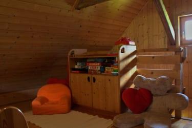 Spiel- und Leseecke für die Kleinsten
