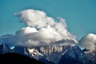 Hat der Berg einen Hut, wird das Wetter gut (Steiner Alpen) Karawanken