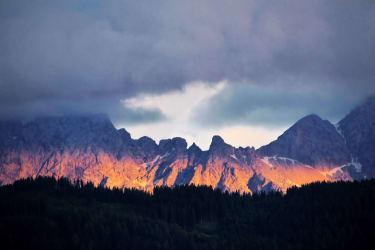 Alpenglühen - Steiner Alpen/Karawanken