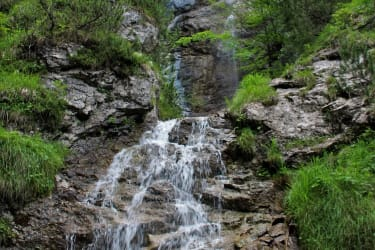 Wasserfall - Vellacher Kotschna Naturschutzgebiet (1/2 Autostunde entfernt)
