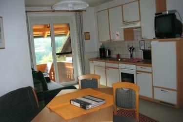 Balkonwohnung Wohnbereich