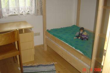 Stockbett-Zimmer