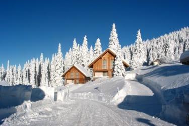 Schnee wie im Märchenwald