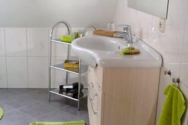 Badezimmer in der FeWo Julia