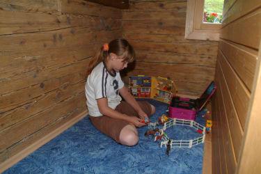 Spielecke in der Bauernkammer