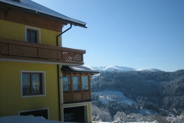 Guesthouse with view of the Koralpe