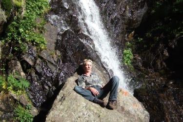 Wasserfall -Pomsbach