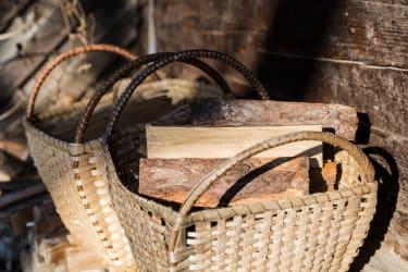 Holz für den Kachelofen