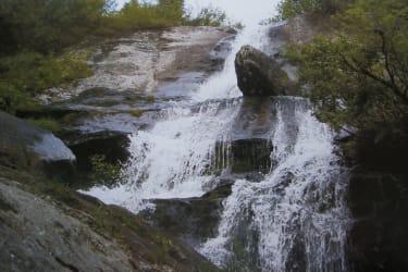 Wasserfall auf der Koralpe
