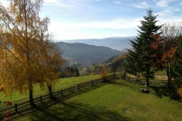 Herbstaussicht ins Lavanttal