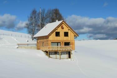 Winterurlaub im Ferienhaus am Bauernhof