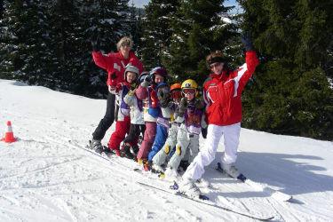 Skischule auf der Weinebene