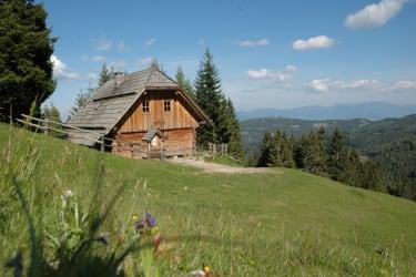 Wiese vor der Hütte
