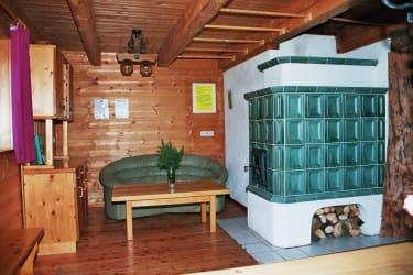 Panoramahütte Stube