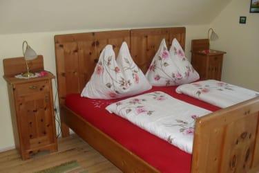 Schlafzimemr aus Zirbenholz