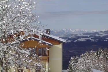 Winter Wohnhaus