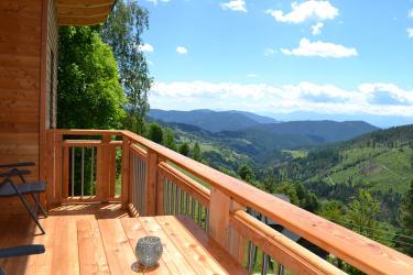 Aussicht vom Balkon Fewo Fernblick