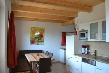 Küche mit Essecke Haus Bella Montana