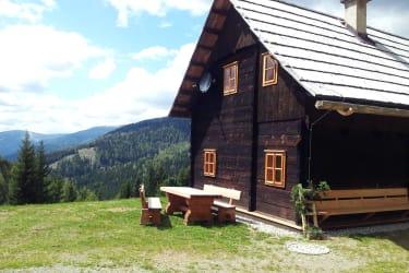 Die Gitzlerhütte in den Nockbergen