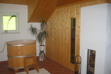 Quellbecken / Saunabereich