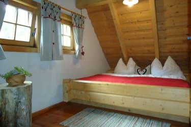 Schlafzimmer Leebhütte