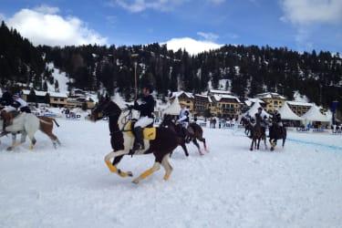 Ice Polo Trophy auf der winterlichen Turracherhöhe