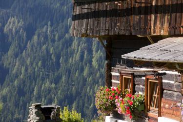 romantisches Bergbauernhaus
