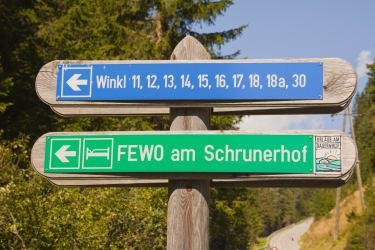 Der Weg zu ihren Ferienhaus in den Nockbergen