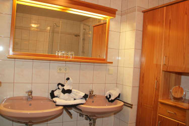 Badezimmer Morgensonne
