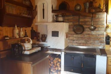 Petra Hütte Küche