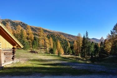 Ausblick Petra Hütte