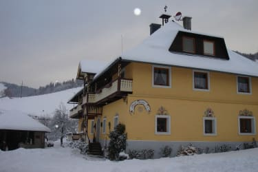 Winterbild Haus Gore