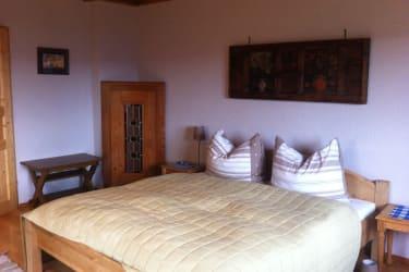 Schlafzimmer 1 Wohnung Bergblick