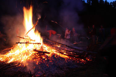 Lagerfeuer am Talhof