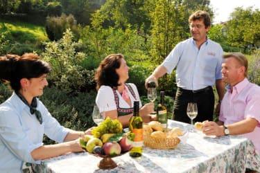 Rethaller-Weinverkostung