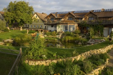 Bauernhaus und Ferienhaus