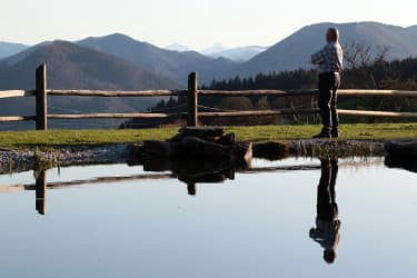 Bauer am Teich