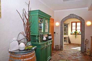Eingangsbereich zum Frühstücksraum