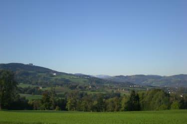 Blick ins Alpenvorland