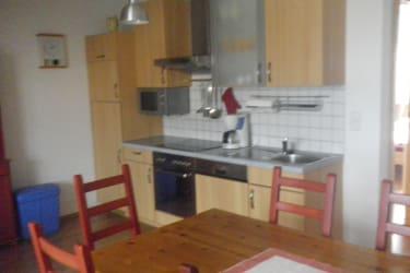 Die Küche wo Schalben gewohnt haben!