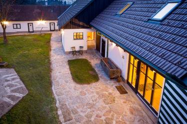 Landhaus-Lunkowitz Innenhof