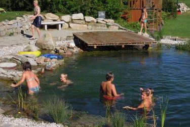 Kibitzhof Schwimmteich