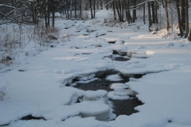 Lainsitz Winter