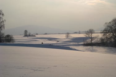 Landschaft Winter