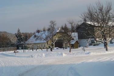 Hinteransicht Winter