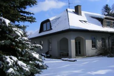 Haus Haider im Winter