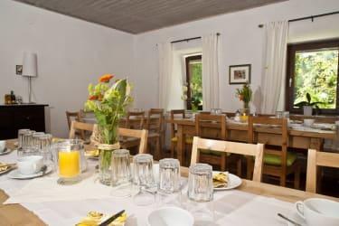 Rosenhof - Aufenthalts-/Frühstücksraum