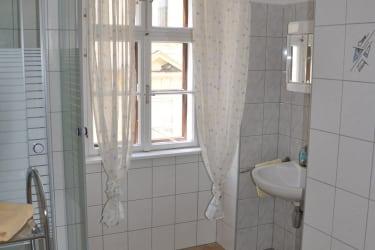 Zimmer Apfelstrudel, Bad mit Dusche