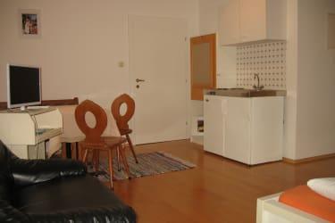 Zimmer Kürbis mit Kleinküche